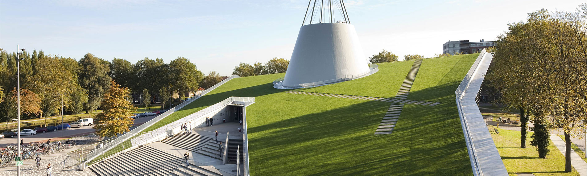 RESITRIX® SKW Full Bond waterproofing membrane used for Delft University
