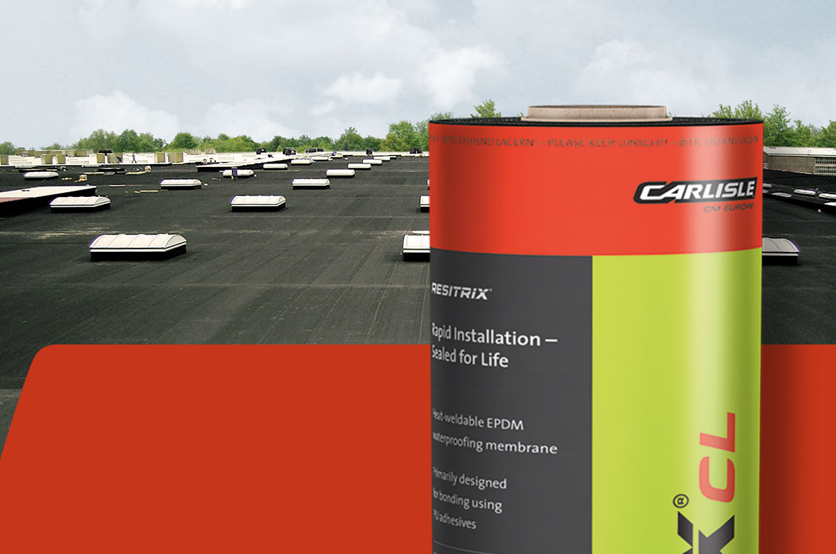 Overview of RESITRIX® products for EPDM waterproofing membranes